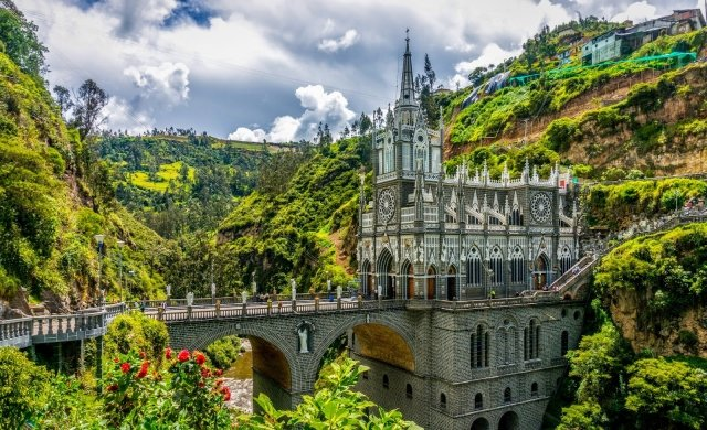 How to get to the Las Lajas Sanctuary in Nariño, Colombia
