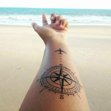 Tatuajes para viajeros: los que debes hacerte si eres amante de viajar. Ideas originales y su significado