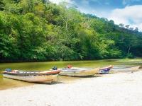 Vive la pesca deportiva y artesanal en el río Don Diego