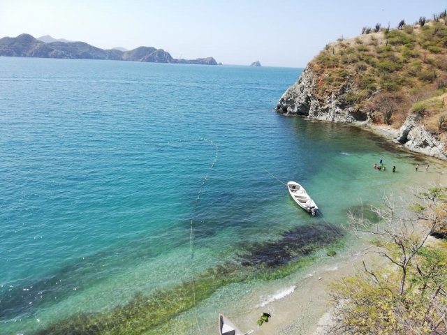 Beaches near Taganga that almost nobody knows and you should know
