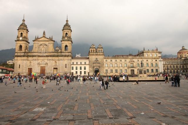 Plaza de Bolívar de Bogotá