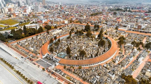 Cementerio Central en Bogotá