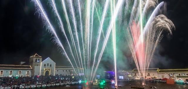 Año nuevo en Villa de Leyva