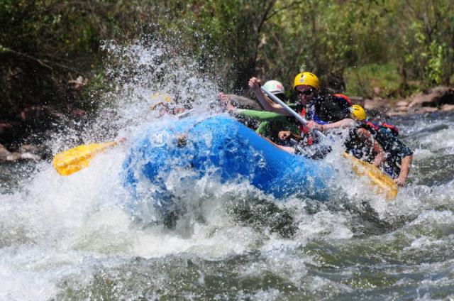 Rafting en Colombia
