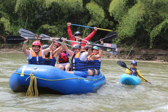 Barragan Rafting en Colombia