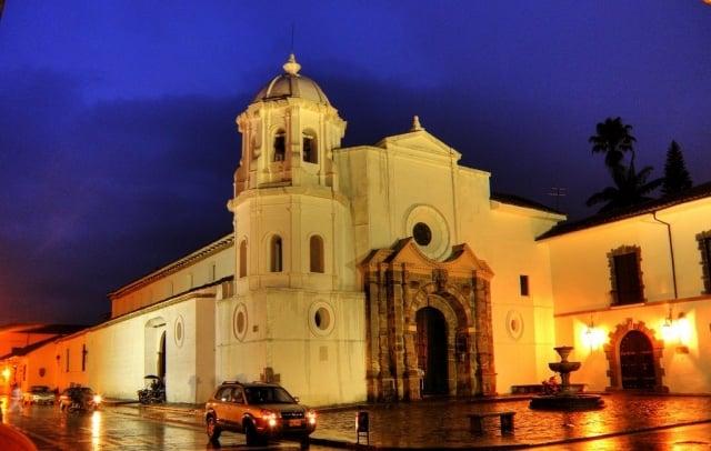 iglesias en popayan - santo domingo