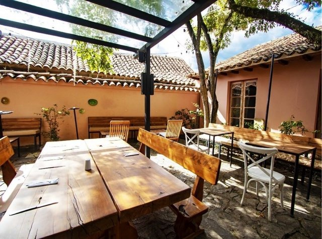 Restaurantes en villa de leyva