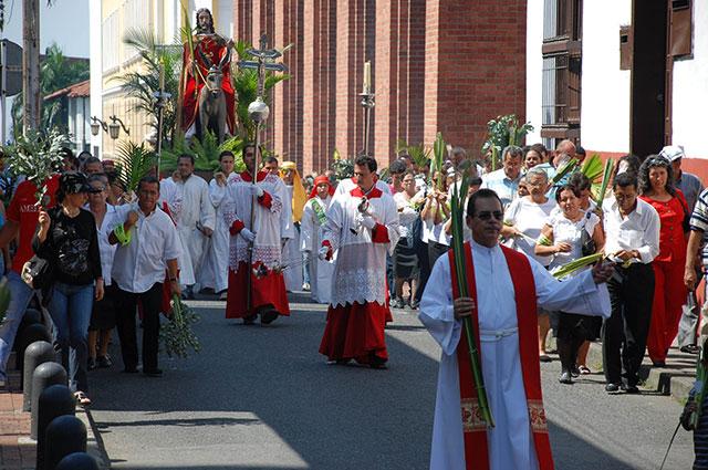 Semana santa en Colombia 2020