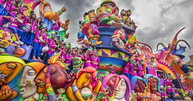 Ferias y fiestas Carnaval de negros y blancos