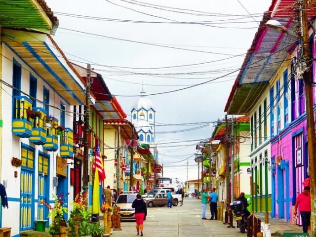 Filandia - Destinos más acogedores de Colombia