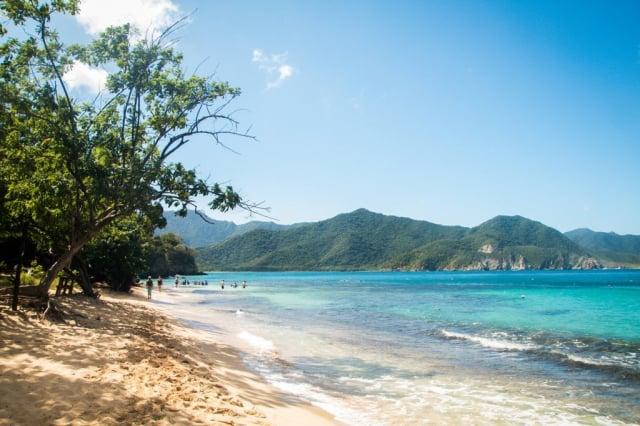 Playa Cristal Santa Marta