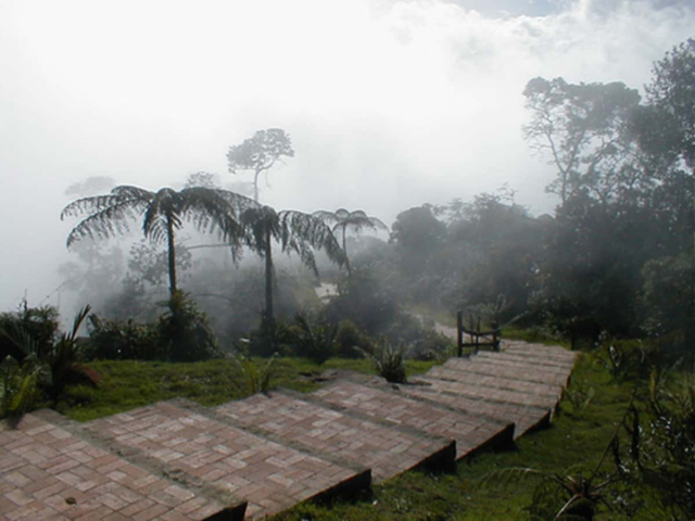 camping près de Bogotá