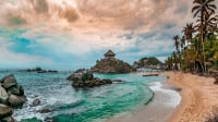 These are all the beaches of the Tayrona Park