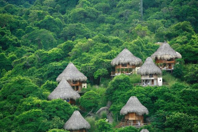 Los mejores hoteles en el Parque Tayrona y sus alrededores