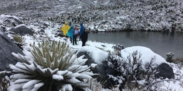 nieve en Colombia