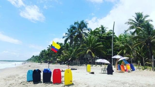 Surf en Colombia - Palomino