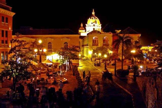 luna de miel en Colombia - Cartagena
