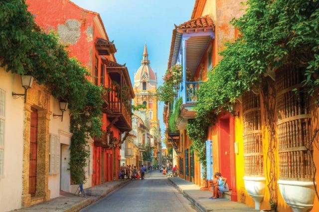 Cartagena caribe colombiano