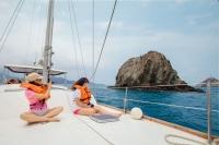 Bahía Concha in barca a vela