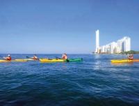 Kayak Tierra Bomba