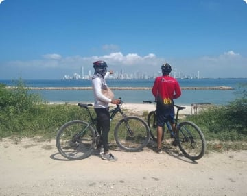 Mountain Bike Tour Isola Tierra Bomba